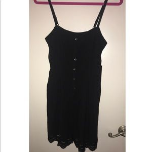 Express Button Front Romper